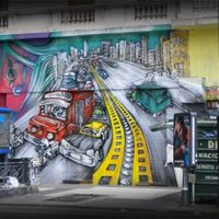 Graffiti and art on the streets of Buenos Aires