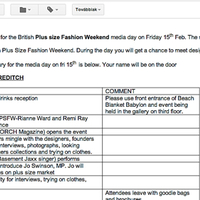 I have been invited to the British Plus Size Fashion Weekend