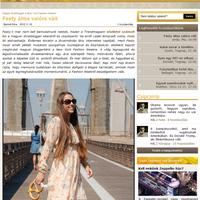 Interview in TRENDmagazin