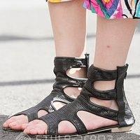 Gladiator sandals fashion 2010