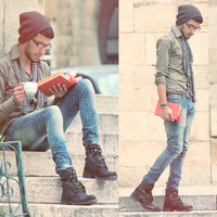 Men fashion: street-style