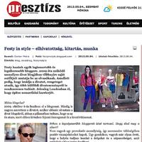 Interview in Presztízs