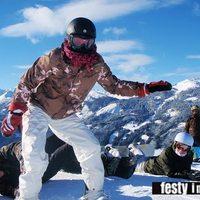 Festy in snowboard style