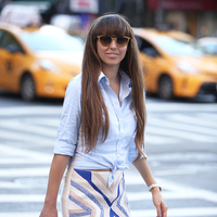 New York Fashion Week - Outfit for the Polo Ralph Lauren rooftop party