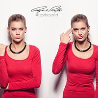 Cango & Rinaldi #testbeszéd kampány Weisz Fannival