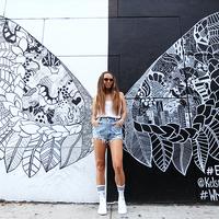 New York - Angel wings in Soho