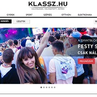 New FESTYshop on the KLASSZ.HU