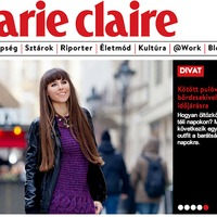 My post in the Marie Claire