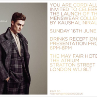 I have been received the first invitation to London Men Fashion Week