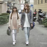 Third look of Milan Fashion Week