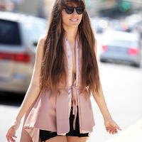 NYFW - Designer pastel vest