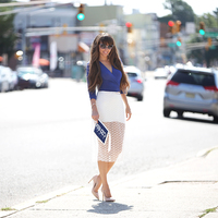 FREYWILLE - Blue and white chic
