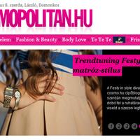 Festy in Cosmopolitan