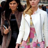 Street fashion at Paris Fashion Week #1
