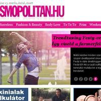 Saját rovatom indult a mai napon a Cosmopolitan.hu-n!