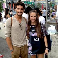 New York Fashion Week day 1.