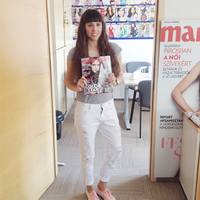 Festy in the Marie Claire magazine