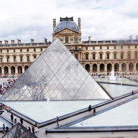 Outfit in Paris #5 – The last day: Louvre, Champs-Élysées