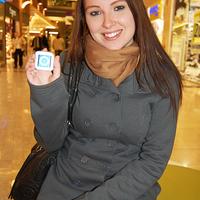 A szerencsés nyertes megkapta az iPod shuffle-t!