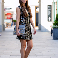 Blogger trip to Designer Outlet Parndorf - Party look