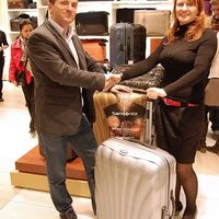New Samsonite shop opened in Europeum