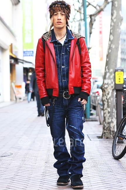 men fashion tokyo street style festy in style