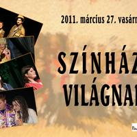 Színházi világnap a Fészek Színházban