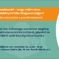 Csak kettőt kell aludni! Mesebeszéd: szimpózium a gyerekkönyvkritikáról 2011.11.18-án 15:00-tól a Szatyor Bárban