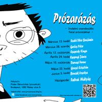 Prózarázás - irodalmi csendesülős fiatal prózistákkal