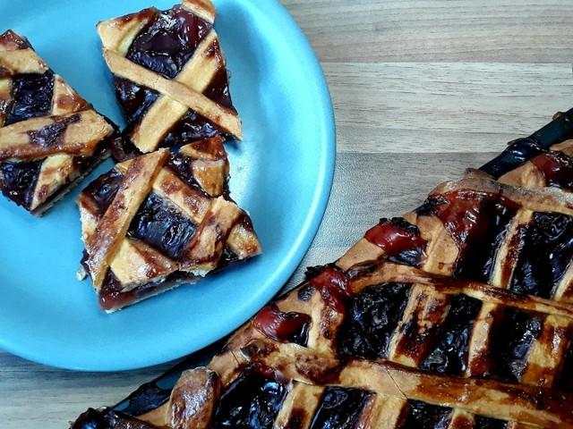 Meggyes pite - szépséges, és finom