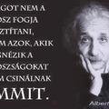 Einstein biztosan szavazna
