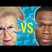 50 Cent a Nagymamin keresztül Twittel (Reklám)