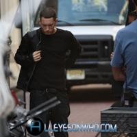 Eminem - 'Not Afraid' videóforgatás..új képek és videók