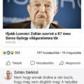 Soros halálát kívánja és vén buzizza a szombathelyi DK-s politikus?