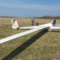 Első repülés Nimbus 2 repülőmmel