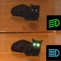 Tompított-távolsági fényszóró