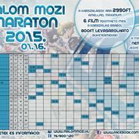 XIV. Malom Mozi Maraton (2015 - tél)