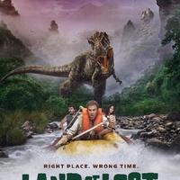 Will Ferrell T-Rex elől evez