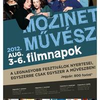 Mozinet-Művész Filmnapok 2012. augusztus 3-6.