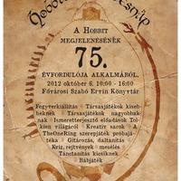 Program: Hobbit születésnap a Fővárosi Szabó Ervin Könyvtárban