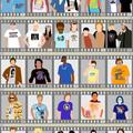 Mennyi szereplőt ismersz fel a pólójukról?
