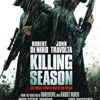 Stb...Statham a Hummingbirdben, Killing Season poszter, Mithcell és Moyer az Evidence horrorban