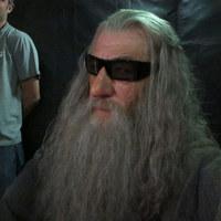 Gandalf 3D-s szemüvegben nyomja