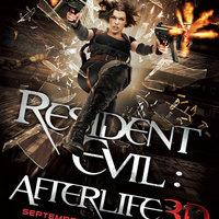 Resident Evil:Afterlife poszter
