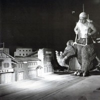 Godzilla forgatási képek 1954-1966