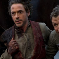 Betekintés a Sherlock Holmes 2 forgatására