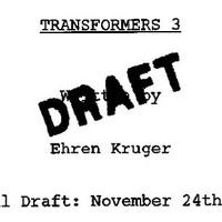 Kiszivárgott a Transformers 3 forgatókönyve (?)