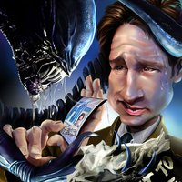 X-akták Alien crossover