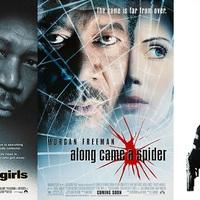 Alex Cross a mozivásznon: A gyűjtő (1997) / A pók hálójában (2001) / Alex Cross (2012)