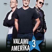 Újra itt van Tamás, Ákos és András: Valami Amerika 3-poszter